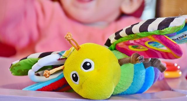 蝶々のおもちゃ