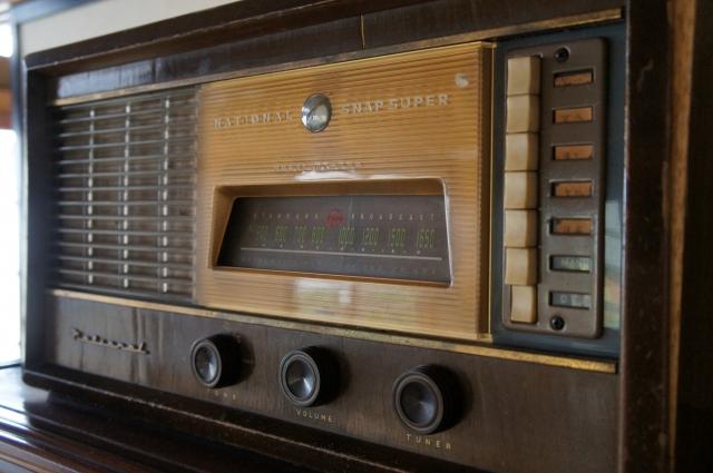 年代物ラジオ