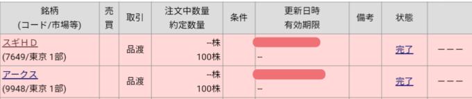アークス(9948)、スギホールディングス(7649)株主優待